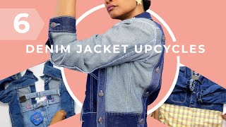Take Your Denim Jackets To The Next Level! | 6 Upcycle Hacks