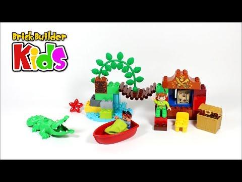 Vidéo LEGO Duplo 10526 : Jake et Peter Pan
