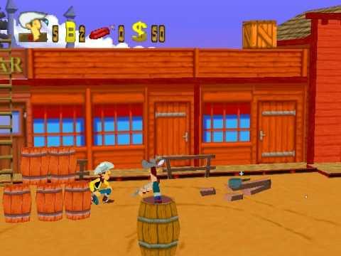 lucky luke pc game 1997