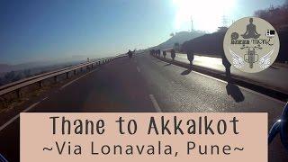 (Part 1) Akkalkot From Mumbai (Thane) ~Via Lonavala, Pune~ RE Classic 350