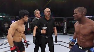 Bruce Lee vs. Hector Lombard (EA Sports UFC 3) - CPU vs. CPU