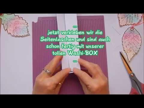 ...Mein Tutorial von einer tollen Washi Box...#ChristineCreativ Washitape Box