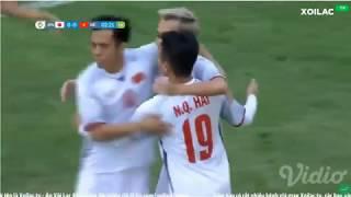 HIGHTLIGHT VIỆT NAM VS NHẬT BẢN Quang Hải ghi bàn ngay phút thứ 3