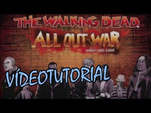 The Walking Dead: All Out War - Juego de Mesa - Reseña/aprende a jugar