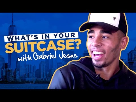 GABRIEL JESUS | WHAT'S IN YOUR SUITCASE?