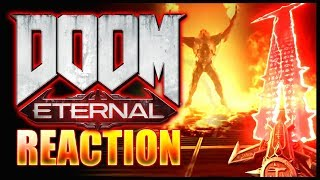 DOOM: ETERNAL Gameplay Reveal | Live Reaction & Discussion