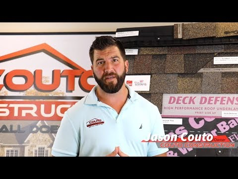 Couto Construction co-owner Jason Couto explains what a blazing hot summer can do to your roof.