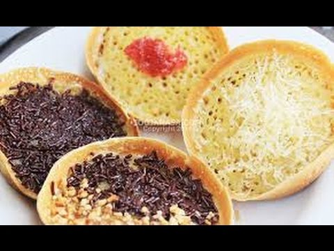 Video Resep Cara Membuat Martabak Mini Manis/Martabak Unyil
