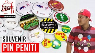 Souvenir Pin Peniti - Pin promosi Review by zeropromosi.com