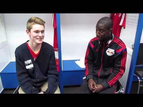Bradley Wright Phillips Locker Room Interview