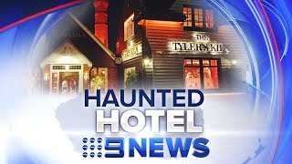 CCTV 'proof' Ghosts Exist | Nine News Australia