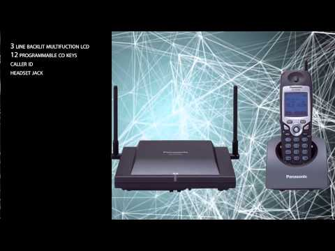 Panasonic KX-TD7896 Wireless Business Phone