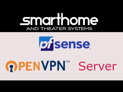 Configure pfsense Firewall as OpenVPN Site to Site Server