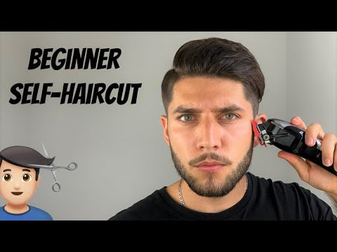 The Easiest Beginner Self-Haircut Tutorial 2020 | How To Cut Your Own Hair Without A Lever