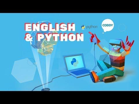 Обучение основам программирования на языке Python и техническому английскому вместе с онлайн-школой CODDY