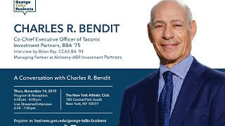 video - George Talks Business with Charles R. Bendit
