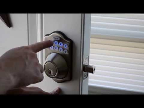 New Keypad Deadbolt and Door Knob Install