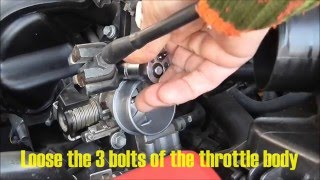 How to adjust idle speed VVT-i engine Toyota Corolla  Years 2000 to