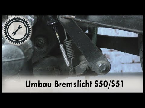 Umbau Bremslichtschalter Simson S50, S51 - Tutorial S50/S51