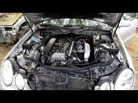 04-06 Mercedes E320 CDI - DIESEL DOWNPIPE Sound Test