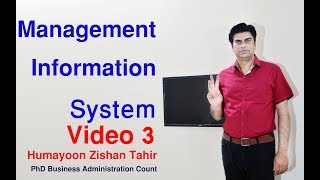 Management Information System Video 3(Quick Review) in Hindi  हिंदी Urdu With Examples
