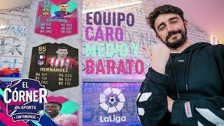 LOS MEJOR DE LA LIGA POR RANGO DE PRECIOS | EL CÓRNER | FIFA19