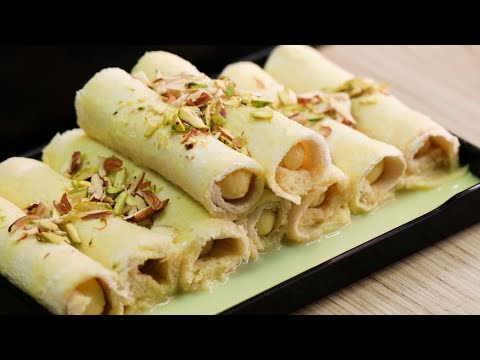 INSTANT BREAD MALAI ROLL IN 10 MIN l EGGLESS & WITHOUT OVEN