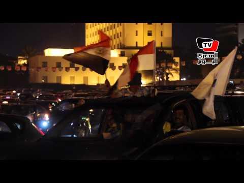 احتفالات ميدان التحرير بقناة السويس الجديدة