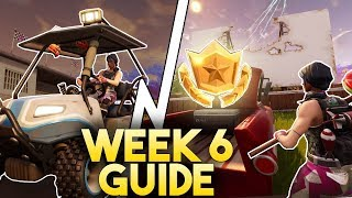 Fortnite SEASON 5 WEEK 6  CHALLENGE GUIDE!   Timed Trials Challenge Guide!   Loading Screen Location