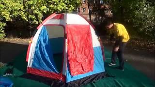 Быстроразборная палатка для зимней рыбалки