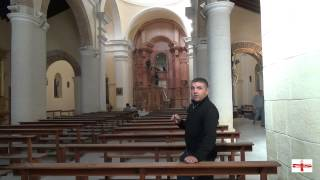 preview picture of video 'Almería Recóndita. Instalación del nuevo Retablo Iglesia de Sorbas'