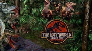 The Terrible Truth About Velociraptor Behavior On Isla Sorna - Michael Crichton's Jurassic Park - dooclip.me