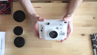 Lomography Instant Camera Unboxing