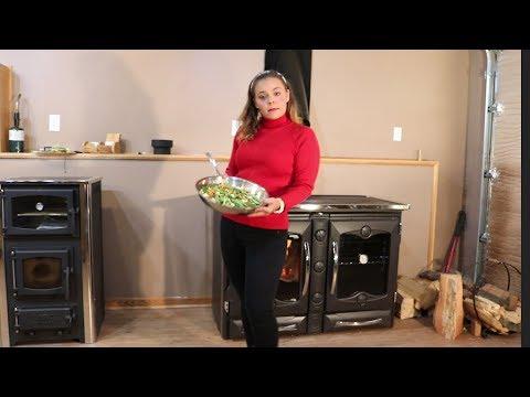 La Nordica - Cooking with the America Cookstove