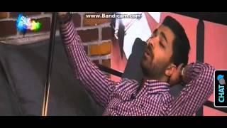 محمد عباس يغني اغنية لسهيلة بن لشهب و يبكي لانها في المستشفى - 25-11-2015