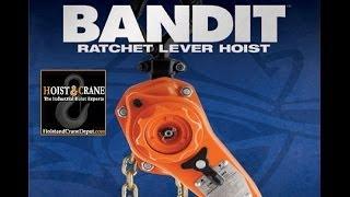CM Bandit Ratchet Lever Hoist Demo