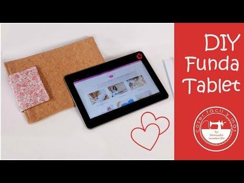 Cómo hacer una funda para tablet o portátil