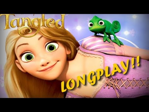 TANGLED FULL GAME ENGLISH DISNEY RAPUNZEL l Disney Complete Games