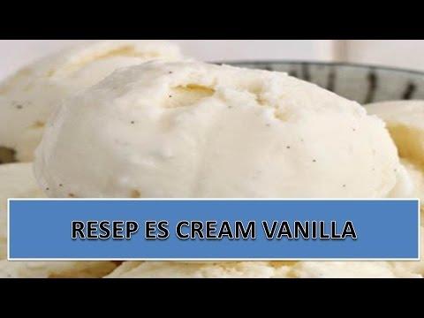 Video RESEP ES CREAM VANILLA