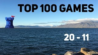 Top 100 Games of All Time: #20-#11