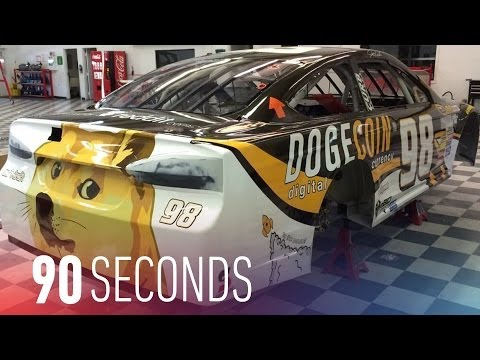 Dogecoin meets NASCAR at Talladega: 90 Seconds on The Verge