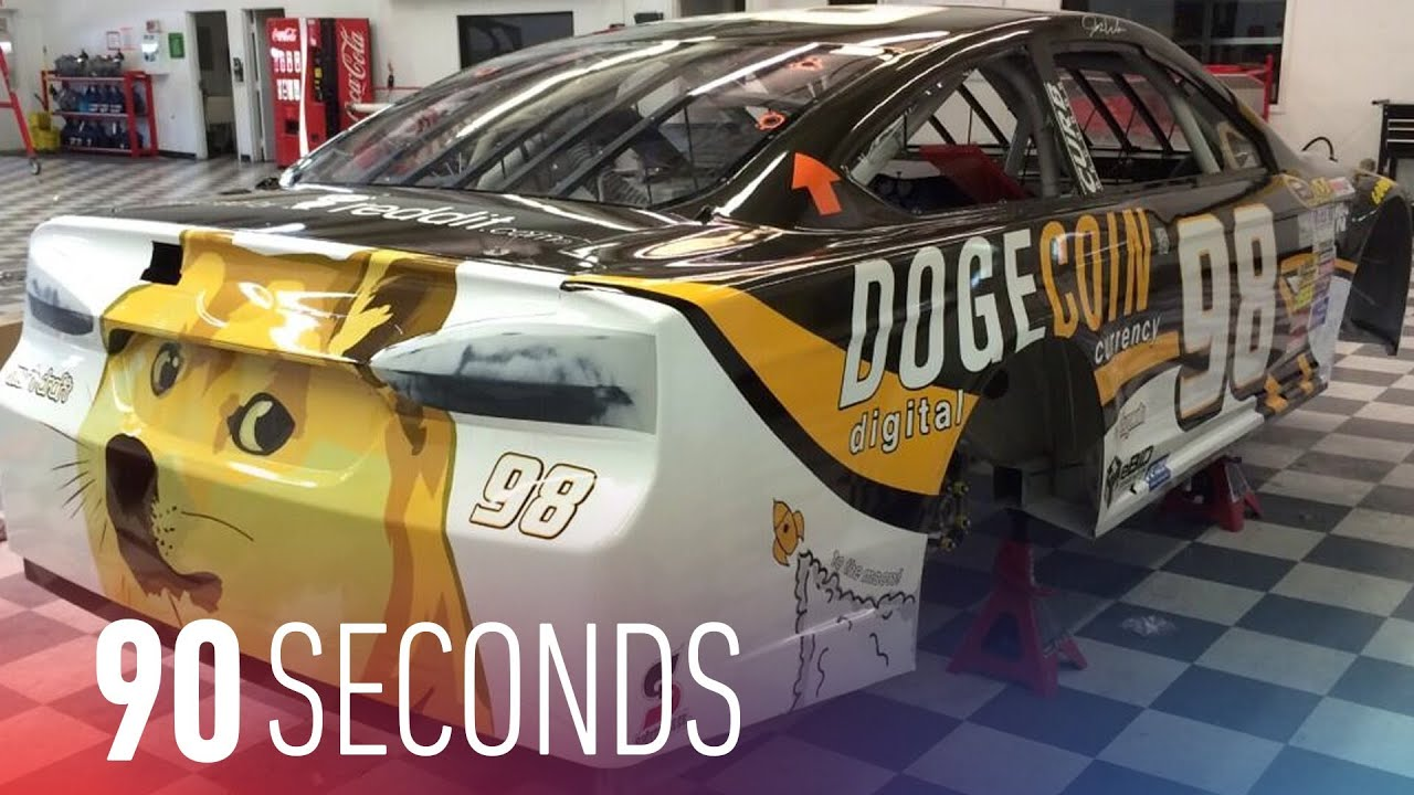 Dogecoin meets NASCAR at Talladega: 90 Seconds on The Verge thumbnail