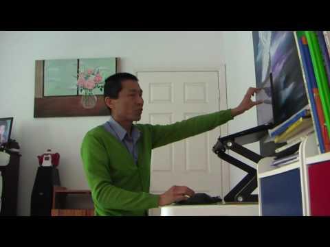 Proper sitting posture and a easy DIY Standup desk