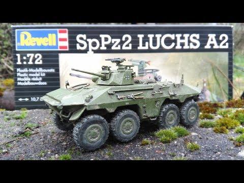 Revell Spähpanzer Luchs - 1/72 Modellbausatz // Full Build & Review