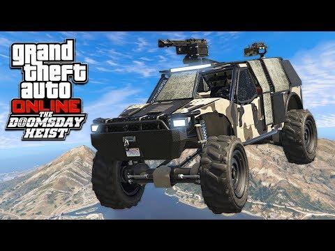 GTA 5 DLC - THE DOOMSDAY HEIST *OFF-ROAD MILITARY VEHICLE