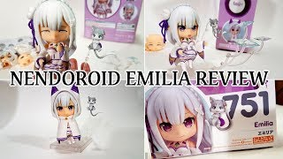 RE:ZERO Emilia Nendoroid 751 by Good Smile Company Opening and Review