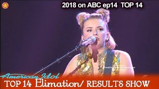Maddie Poppe sings Walk Like an Egyptian Victory Song Top 10 American Idol 2018 Top 14 Results Show