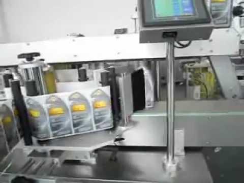 Flat Bottle Sticker Labeling Machine