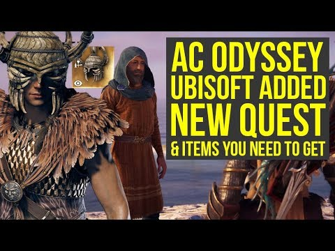 Assassin's Creed Odyssey DLC - New Quest Line & Items You Want To Get (AC Odyssey DLC)