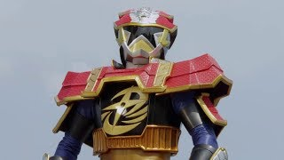 Enter Lion Fire Gold Ranger